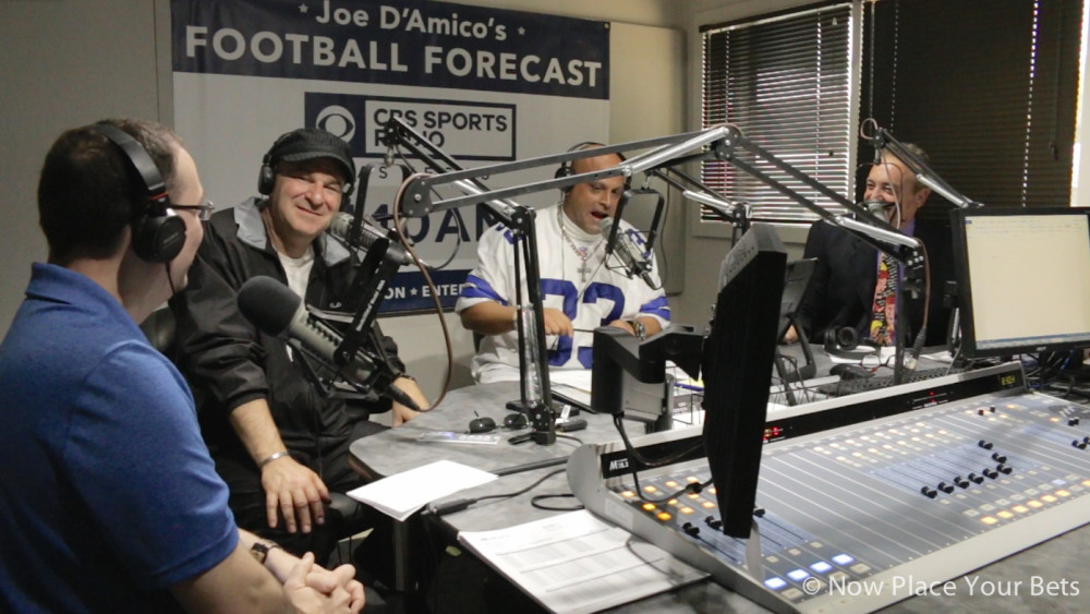 Nov.19.16. Joe D'Amico's Football Forecast radio show